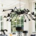 Nordic wohnzimmer esszimmer lampe Amerikanischen minimalistischen kreative eisen moderne büro Vintage industrielle spinne Kronleuchter lichter