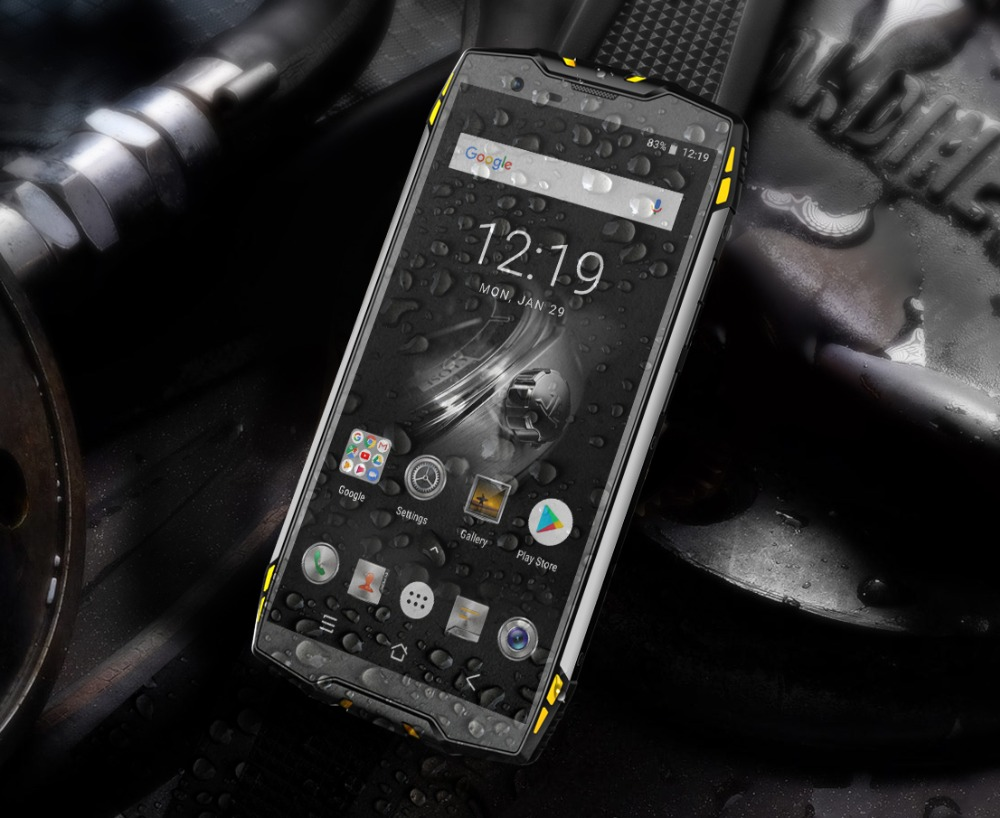 """HTB1adl6di6guuRkSmLyq6AulFXaw Blackview BV6800 Pro Android 8.0 Outdoor Mobile Phone 5.7"""" MT6750T Octa Core 4GB+64GB 6580mAh Waterproof NFC Rugged Smartphone"""
