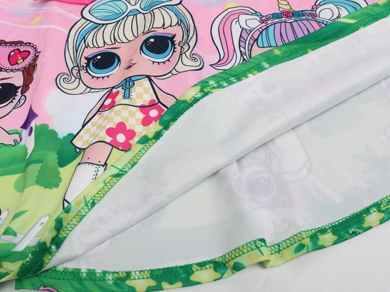Новинка 2019 года, Забавное платье для девочек прозрачная сетчатая юбка с рисунком большого глаза для девочек + сумка, 2 комплекта