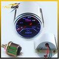"""2 """"(52mm) lente Humo medidor de presión de Aceite 0-100 PSI mostrar/car Medidor/calibrador Auto/Tacómetro/Racing metro/Medidor Medidor de prensa de Aceite"""