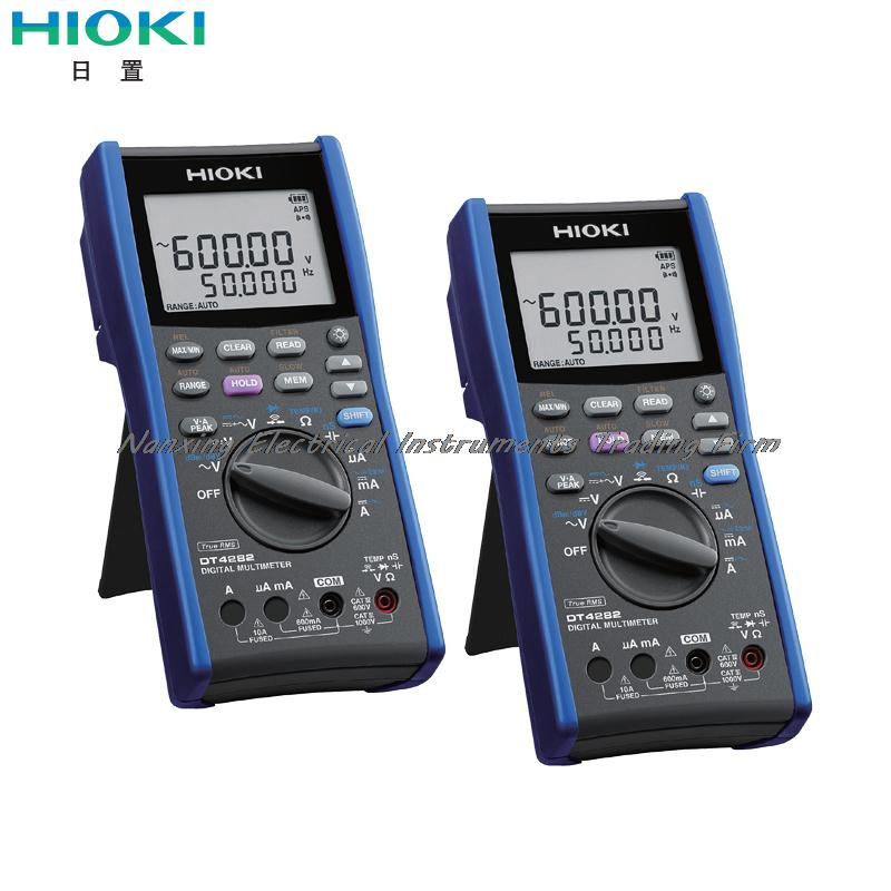 Fast arrival HIOKI DT4282 DIGITAL MULTIMETER Speedy Performance of Professional Testing AC/DC 1000V, AC/DC 10A, 600MOhm цена