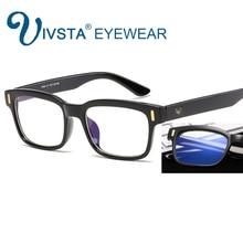 IVSTA anti blue rays computer Glasses Men Blue Light Coating Gaming Glasses for computer protection eye Retro Spectacles 8084 V