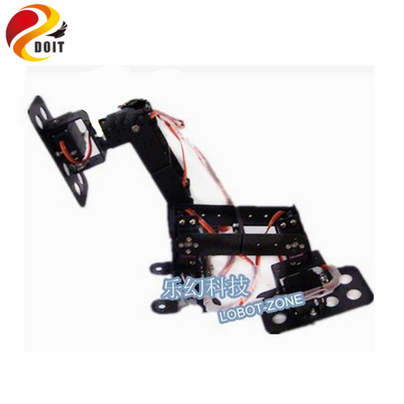 Official DOIT 6DOF Biped Walking Robot Loop to Loop Walking Game Dedicated Full set of Steering Gear Bracket new 17 degrees of freedom humanoid biped robot teaching and research biped robot platform model no electronic control system