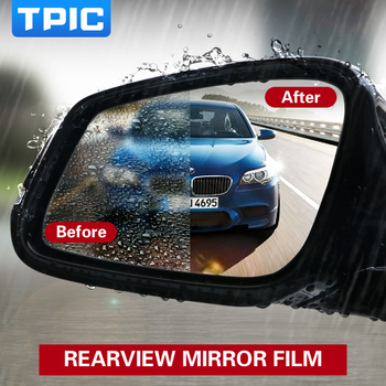 Car Side View Mirrors Protective Clear Film (2PCS)