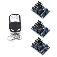 New Product DC 12V 24V 36V 48V 30 A 1 CH RF Wireless Remote Control 3