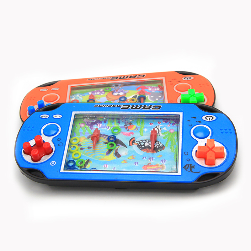 Water Game Toy : Pcs lot free shipping kids water ring console for
