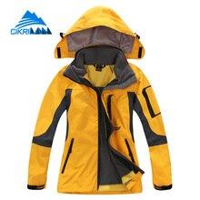 Ladies 3in1 Camping Windbreaker Waterproof Jaqueta Feminina Outdoor Leisure Sports Hiking Winter Jacket Women Climbing Ski Coat