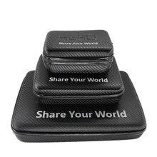 Wodoodporne pudełko torba dla GoPro Hero 7/6/5/4/3/3 +/2/ 1 Xiaomi Yi SJCAM SJ4000 SJ5000 Sprots kamery akcji