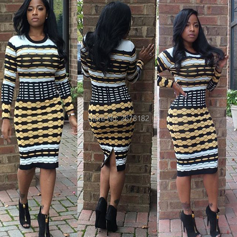 US $7.69 49% OFF|plus size African Dresses Women Special Offer 2018 Full  Body Print, Fashionable Neck And Long Sleeve Dress, African, New, Women,-in  ...