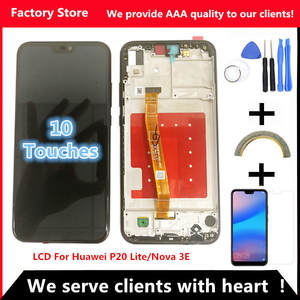 2280*1080 AAA LCD With Frame For HUAWEI P20 Lite Lcd Display Screen For HUAWEI
