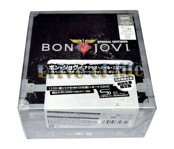 Cheap Bon Jovi Special Japanese Edition The Complete SHM CD