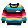 Мальчик свитер для детей 2017 новые весенние детей свитер хеджирования хлопка детская одежда