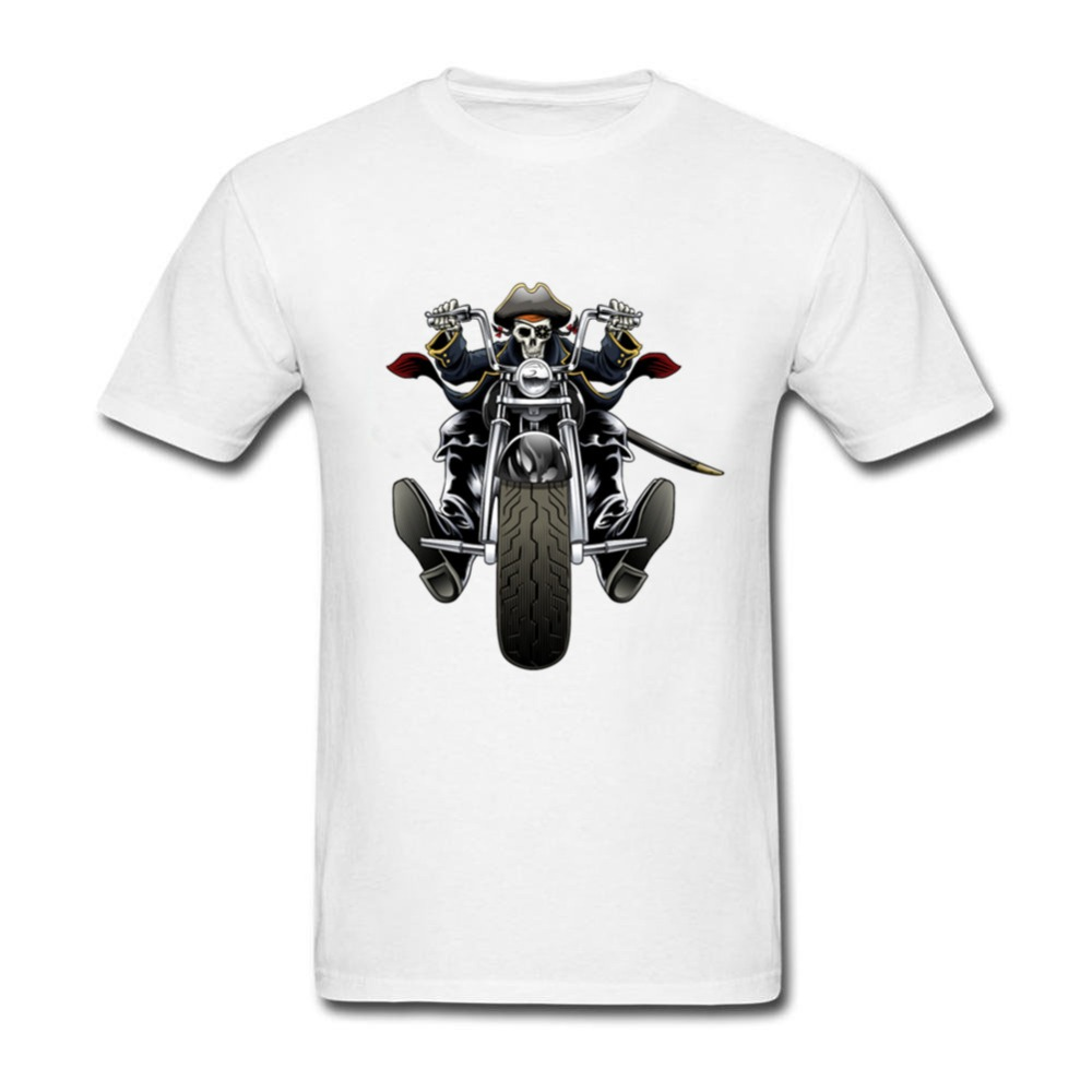 For Sale T Shirts Autumn For Men Bone t-shirts motorcycles t-shirts designs bone Short Sleeved Clothing Youth Slim Fit T Shirt D
