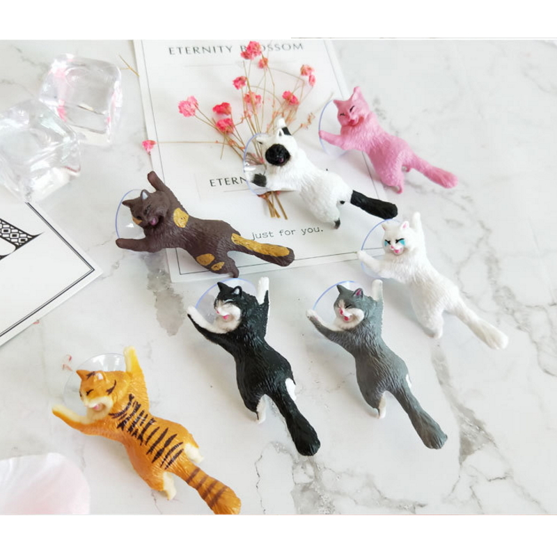 Funny Cute Cat Animal Lift Up Mobile Phone Holder Support Mounts Stand Bracket for iphone Samsung