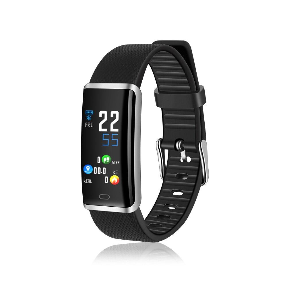Uhoofit R9 smart watch deporte impermeable reloj inteligente Monitor de ritmo cardíaco sangre presión rastreador de Fitness pulsera para hombres y mujeres