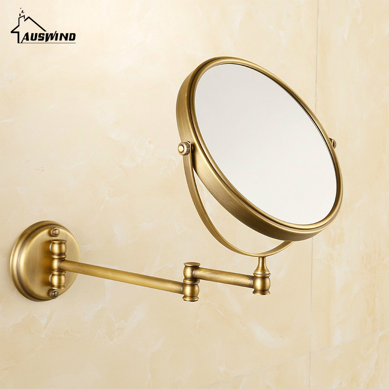 Aliexpress Antique Bronze Bathroom Mirror Copper Elegant 8 Inch Magnifier Beauty Accessories 567 From Reliable