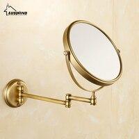 Antique Bronze Bathroom Mirror Copper Elegant 8 Inch Bathroom Mirror, Magnifier Beauty Bathroom Accessories 567