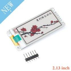 2,13 Zoll E-Papier Modul E-Ink-Display Screen Modul Schwarz Rot Weiß Farbe SPI Unterstützt Teil Aktualisieren für Arduino