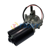 DC Gear Motor Garage Door Raplacement 24V Electric Right Angle Reversible Worm Gear Motor Left Gear Box