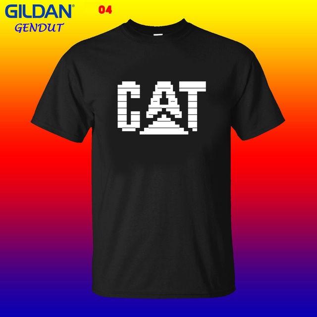 Caterpillar Logo Copy Paste ASCII Text Art CAT Logo-in T-Shirts from