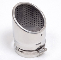 For Jeep Grand Cherokee 2011 2012 Stainless steel Exhaust Muffler Tip Pipe End Pipe Cover Tirm Auto Accesssories 1PCS
