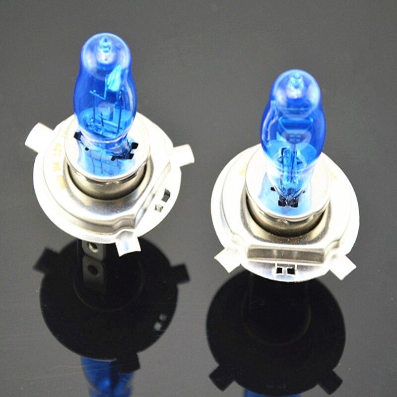 2pcs H4 100W/90W 12V HOD Xenon White 6000k Halogen Car Head Light Globes Bulbs Lamp H4 HOD Xenon Light