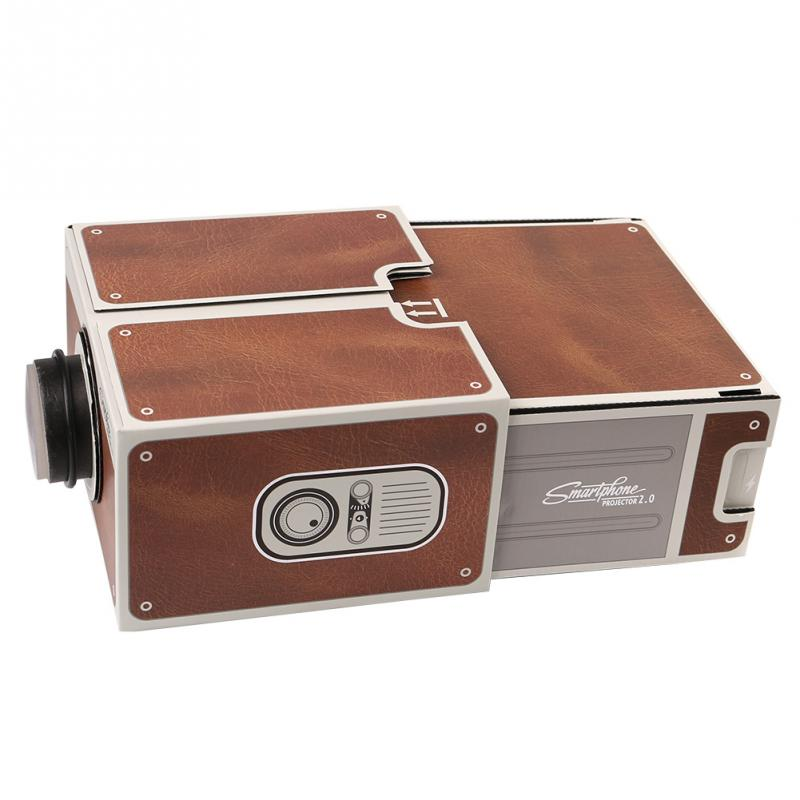 Cardboard Smartphone Projector 2 0 Diy For Mobile Cell Phone