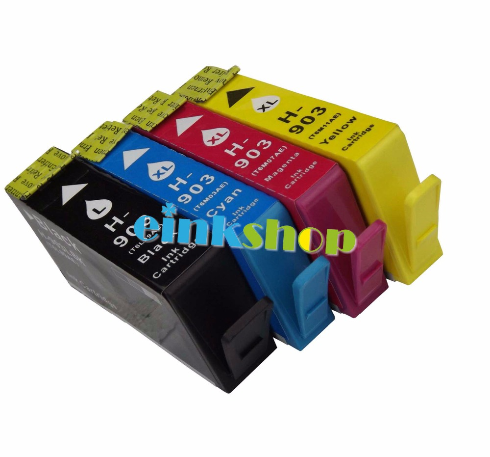 New For HP 903 XL 903XL Full Ink Cartridge For HP Officejet Pro 6960 6961 6963 6964 6965 6966 6968 6970 6971 6974 6975 fast shipping 2pk 74 75 xl ink cartridge for hp 74 xl 75 xl ink cartridge with 100% defective replacement