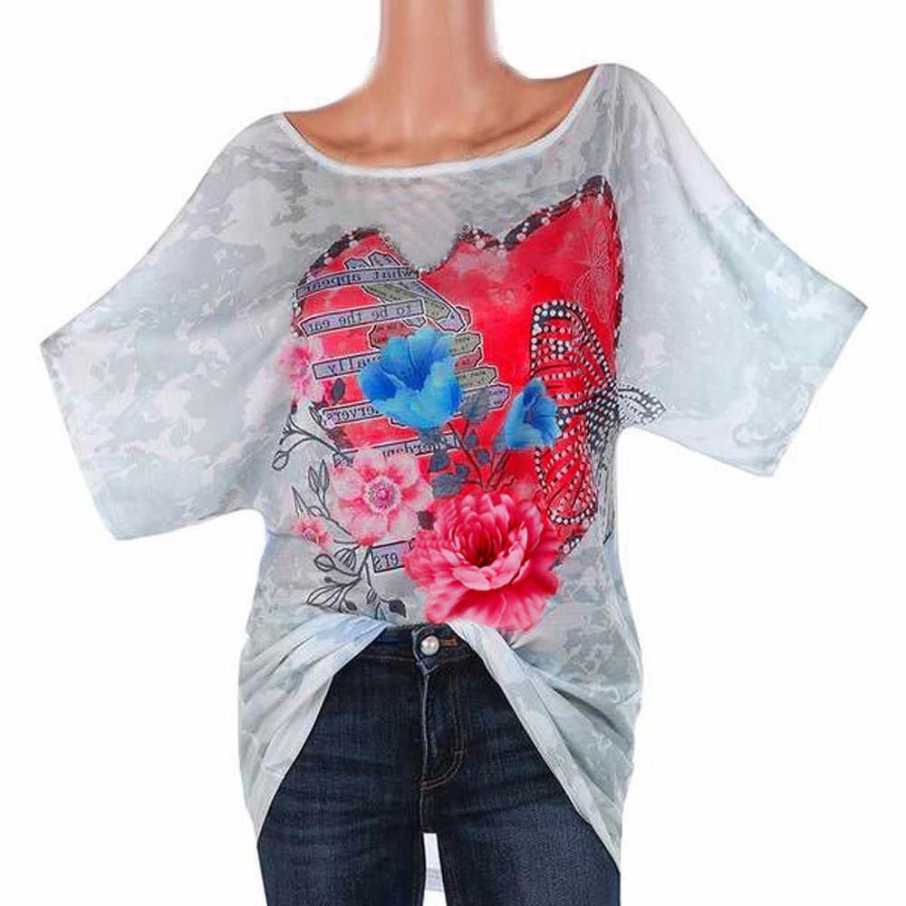 1bd9a2aea741 футболка женская Модные женский горный хрусталь любовь бабочка с круглым  вырезом ...