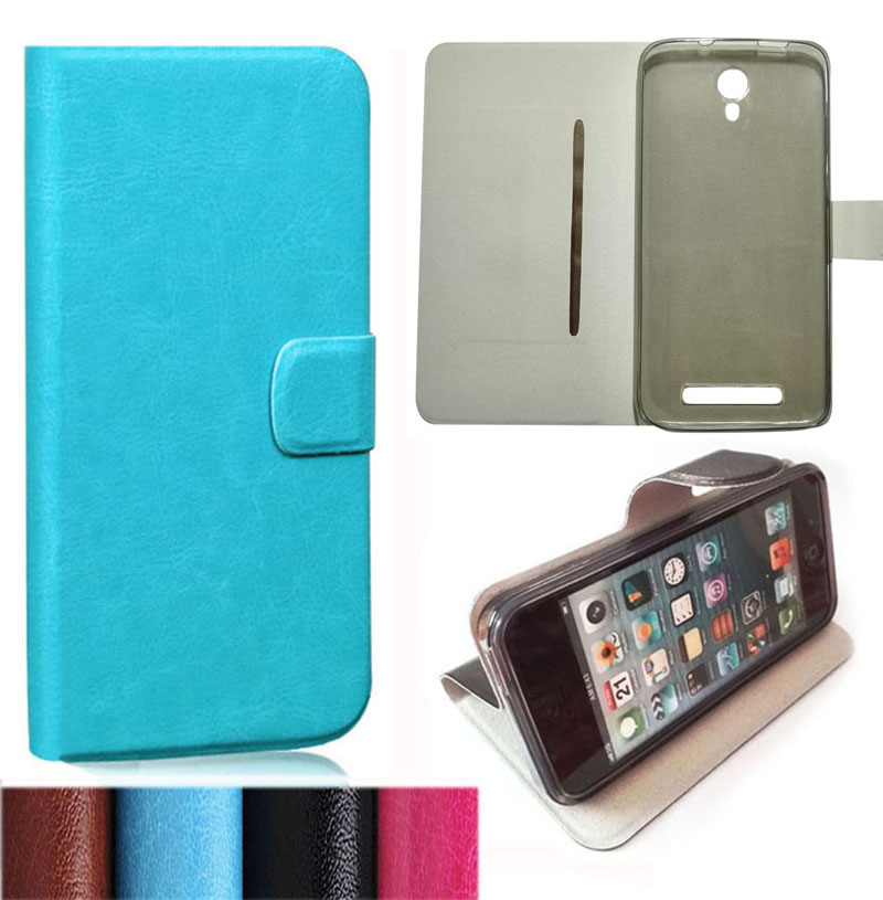 6a57b752dc Hot Sale PU Leather Cover Cases For Doogee Valencia 2 Y100 Plus (5.5 inch)  Original Shell (Gift HD Film + Touch Pen + Tracking)