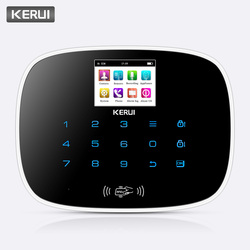KERUI GSM 850/900/1800/1900 MHz SMS Sistema di Allarme Antifurto di Sicurezza del Sistema di Allarme Android iOS APP sistemi di Allarme di controllo