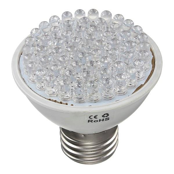 High quality 60 LEDS 45 Red 15 Blue E27 220V 3W Grow Light Bulb Flowering Plant