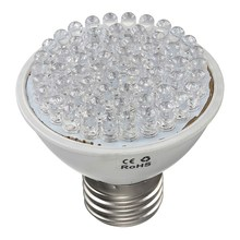 High quality 60 LEDS 45 Red 15 Blue E27 220V 3W Grow Light Bulb Flowering Plant aquarium Hydroponic system Garden Lamp