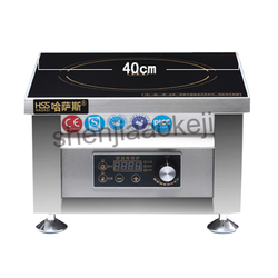 6000w commercial induction cooker 11gear household business Electromagnetic furnace cooking Heat food  HSS-605G 220V (50Hz) 1pc