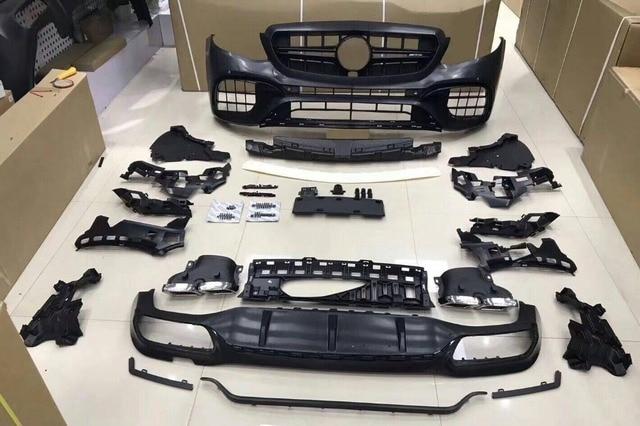 For Mercedes Benz E class W213 E200L E300L modified E63 S AMG