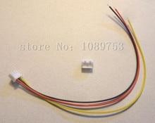100 conjuntos jst xh 2.5 3 pinos conector da bateria plugue fêmea & masculino com fio de 200mm
