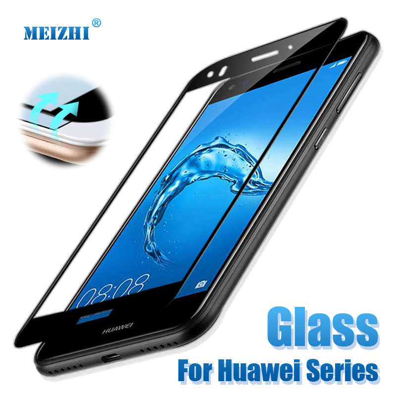 protective glass on the for huawei y7 2017 screen protector for huawei y5  y6 y7 prime 2017 2018 protect glas y 6 5 7 y5ii film