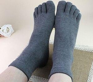 Image 1 - New Arrival 10 par mężczyzna kobiet skarpetki idealne na pięć 5 palec u nogi buty Unisex gorąca sprzedaż