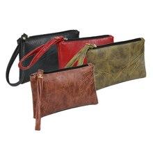 Мужские и женские кошельки из искусственной кожи в стиле пэчворк, сумка для денег на молнии, клатч, портмоне, держатель для телефона, браслет, портативная сумочка, вечерние, подарок