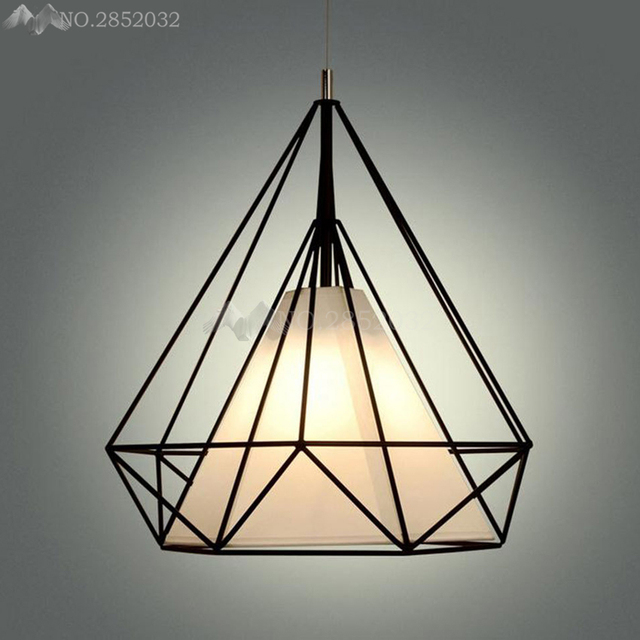LFH Modern Art Pyramid Nordic Iron Diamond pendant light Fitting Metal suspension Living room hanging lamp.jpg 640x640 Résultat Supérieur 15 Frais Lustre Suspension Metal Photos 2017 Phe2