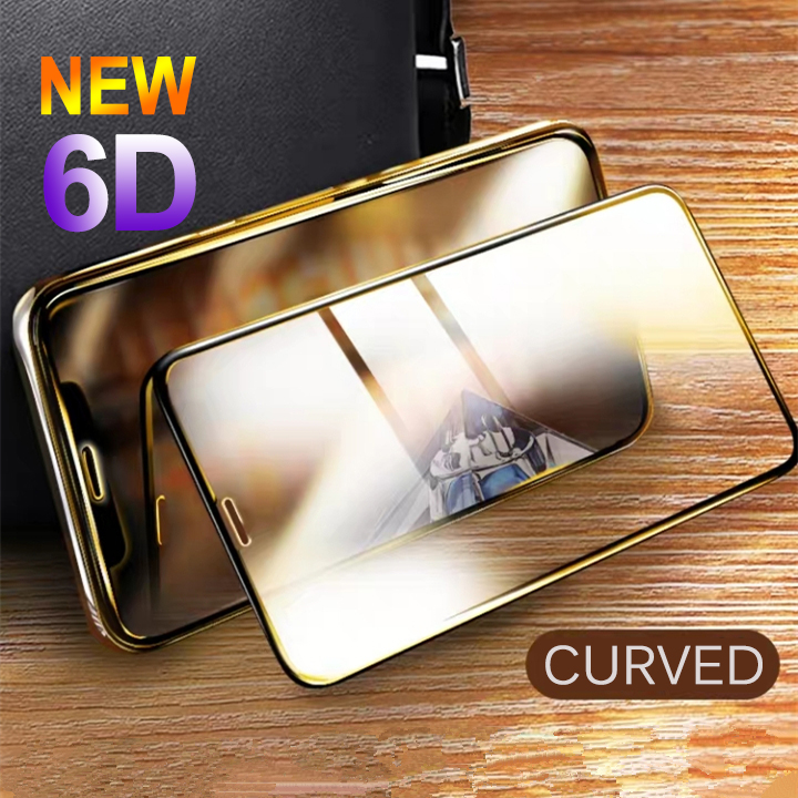 6D Curved Tempered Glass For IPhone X XS Max XR Full Cover Screen Protector Tempered Glass For Apple Iphone X XS Max 9H Glass