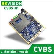 Устройство записи на карты SD доска мини модуль видеорегистратора для CCTV подземный трубопровод инспекции промышленный эндоскоп D1 HD Запись