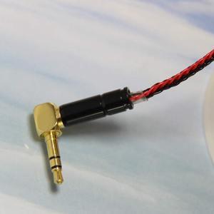 Image 4 - Tiandirenhe mmcxケーブルshureのSE215 SE535 SE846イヤホン8株シルバーメッキヘッドセットケーブルマニュアルウィービングアップグレードライン
