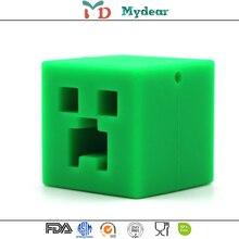 1x Mydear силіконові кубики підвісні силіконові тістера Baby Teething Pendant Mursing м'які силіконові бусини безпечні іграшки для заспокоєння зубів