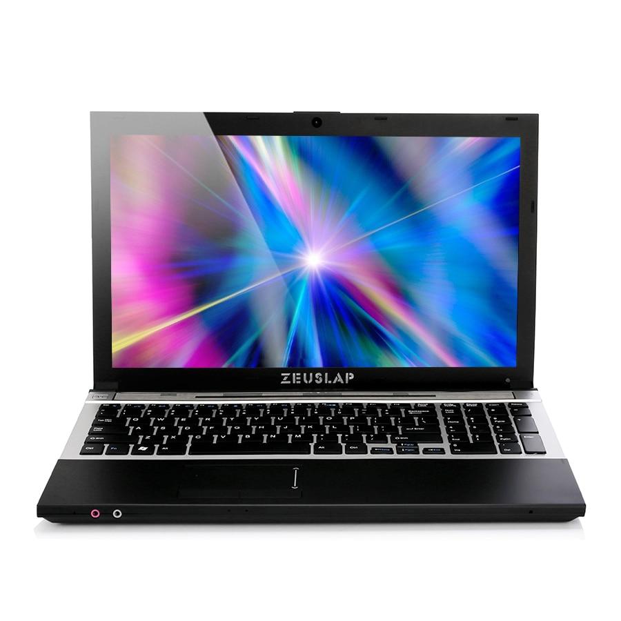 15.6inch Intel Core I7 CPU 8GB RAM 512GB SSD 1920*1080P FHD WIFI Bluetooth With DVD-ROM Notebook Computer PC Laptop
