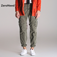 Men S Cargo Pants 2017 Hip Hop Pantalon Moto Hommes Sweatpants Men Trousers Mens Baggy Pant