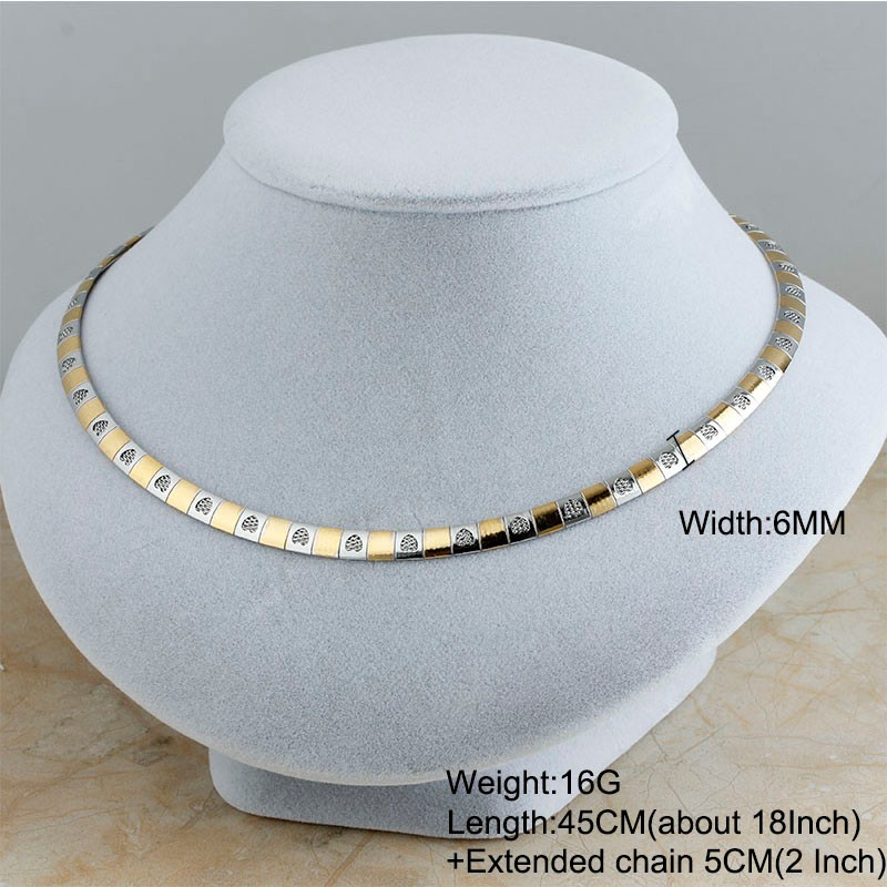 HTB1adsrNFXXXXaXapXXq6xXFXXX6 - 2017 New Stainless Steel Fashion Gold/Silver Women Collar Chokers