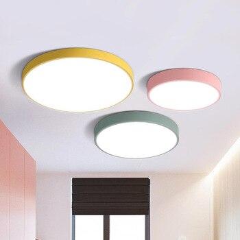 Moderne Einfache Decke Licht Nordic Led Decke Lampe Wohnzimmer Restaurant  Schlafzimmer Küche Leuchten Studie Büro Beleuchtung