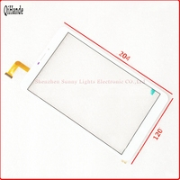 1Pcs Lot 8inch New Touch Screen Suitable For Kiano Slimtab 8 3g Touch Panel Handwriting Screen