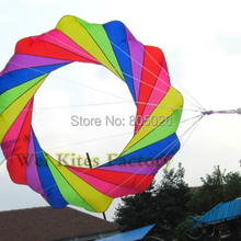 Высокое качество 2 м воздушный змей windsocks мягкие воздушные змеи на открытом воздухе игрушки мощность кайт вэй кайт завод нейлон ripstop принт Кайтсерфинг